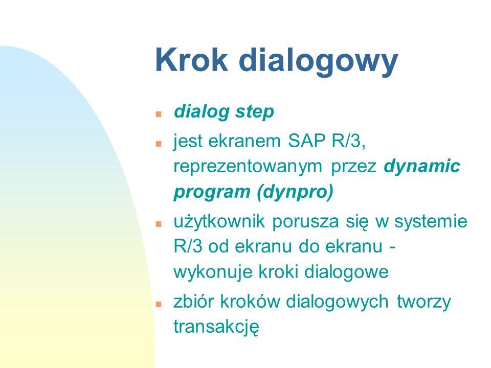 Krok dialogowy dialog step