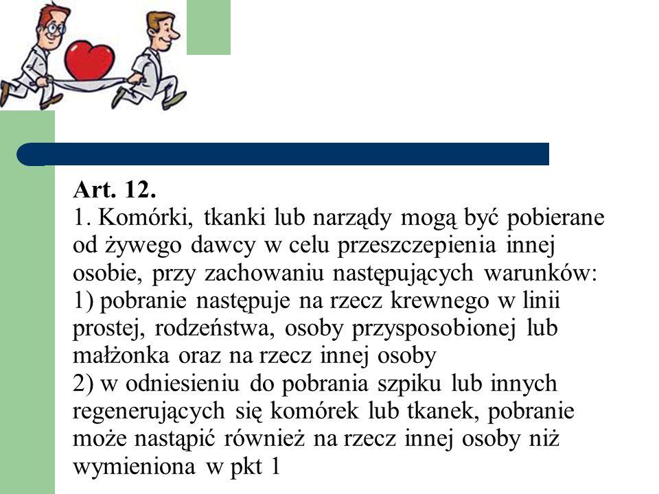 Art. 12. 1.