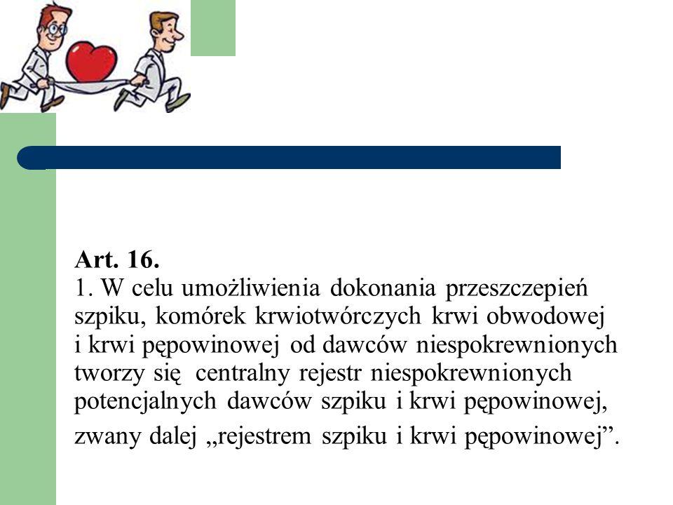Art. 16. 1.