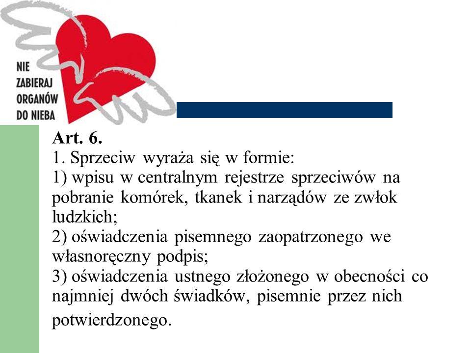 Art.6. 1.