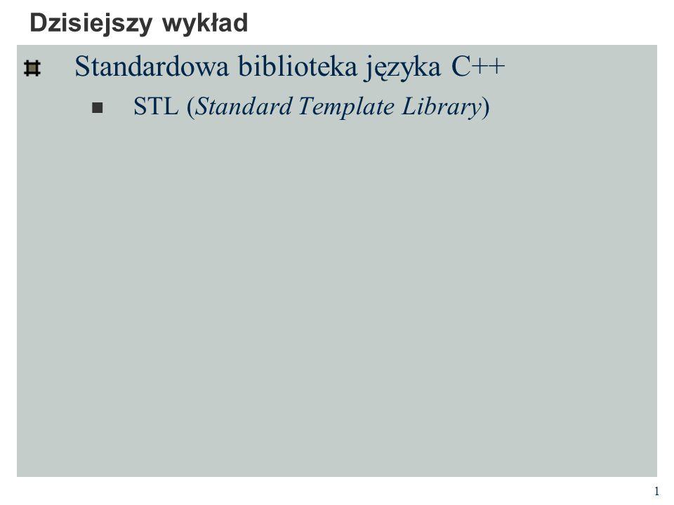 Standardowa biblioteka języka C++