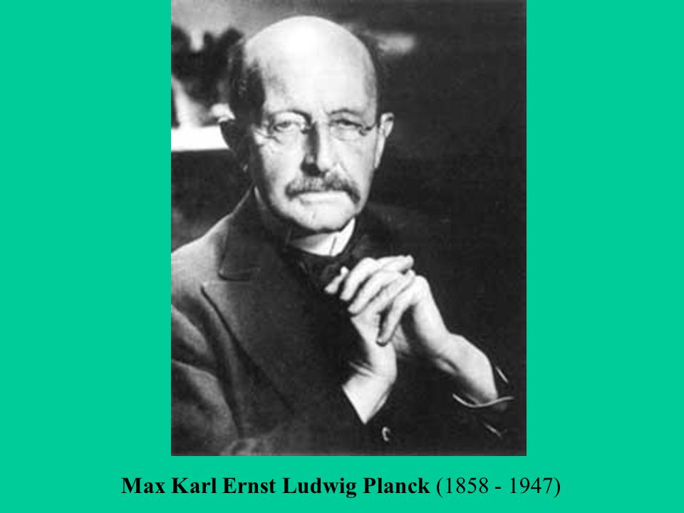 an introduction to the life of max karl ernst ludwig planck Max karl ernst ludwig planck quotes - 1 a painter paints the appearance of things, not their objective correctness, in fact he creates new appearances of things.