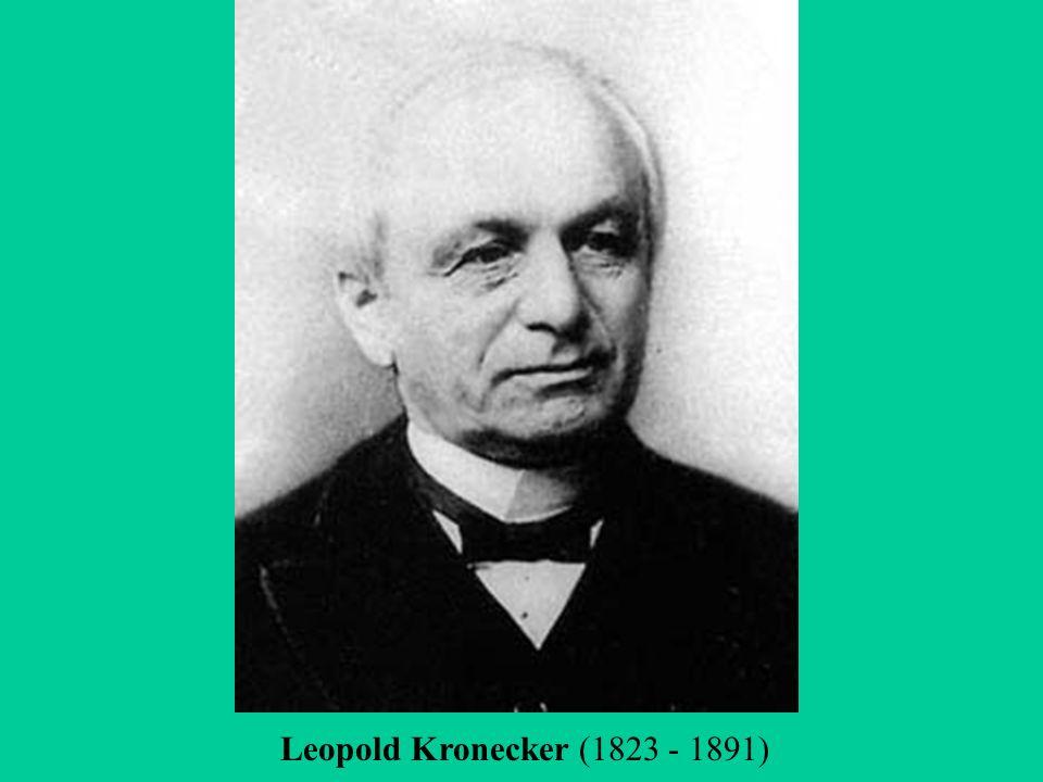leopold kronecker essay