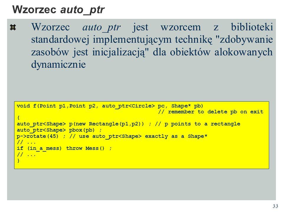 Wzorzec auto_ptr