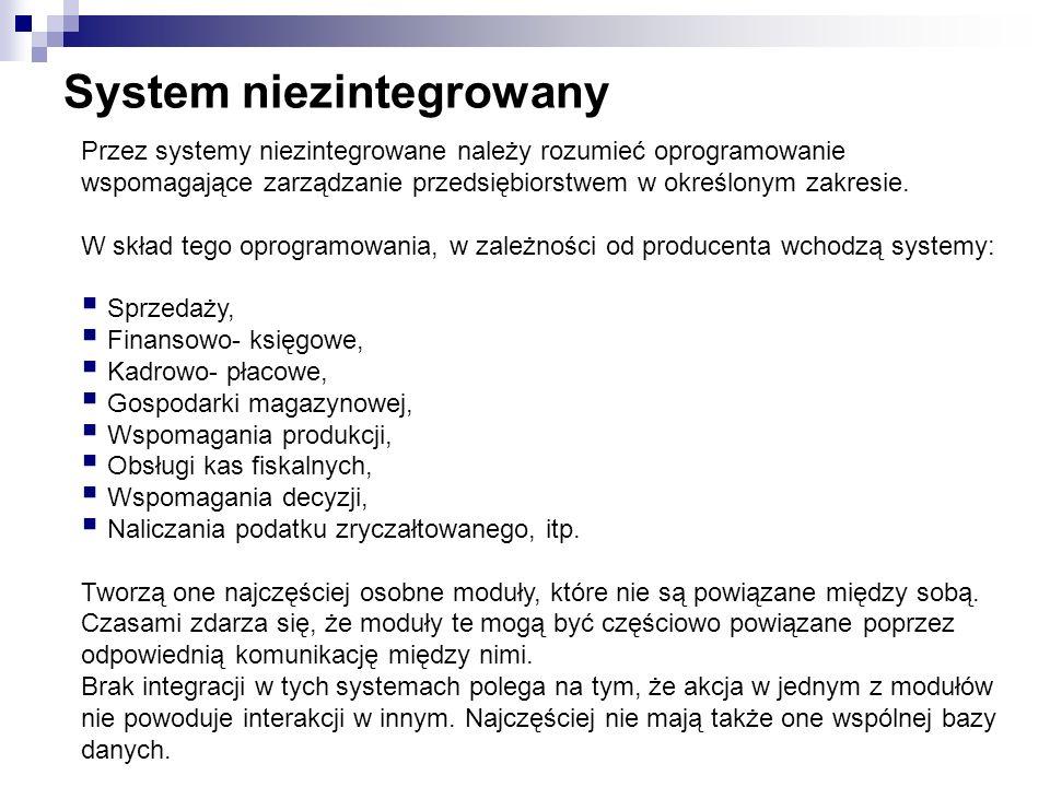 System niezintegrowany