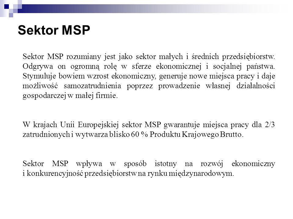 Sektor MSP