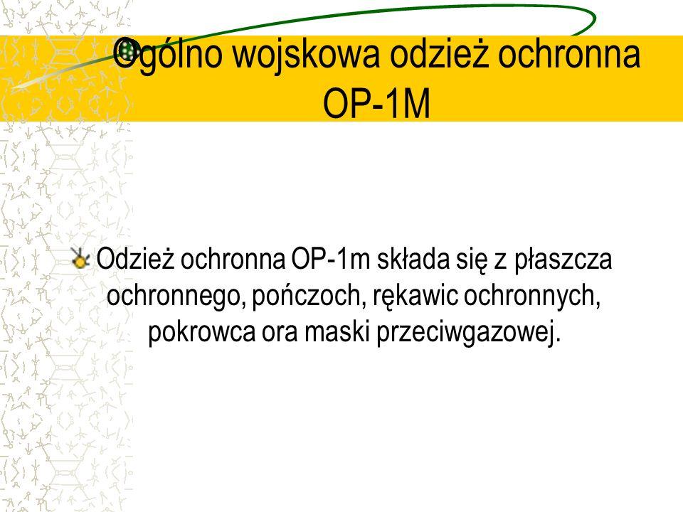 Ogólno wojskowa odzież ochronna OP-1M