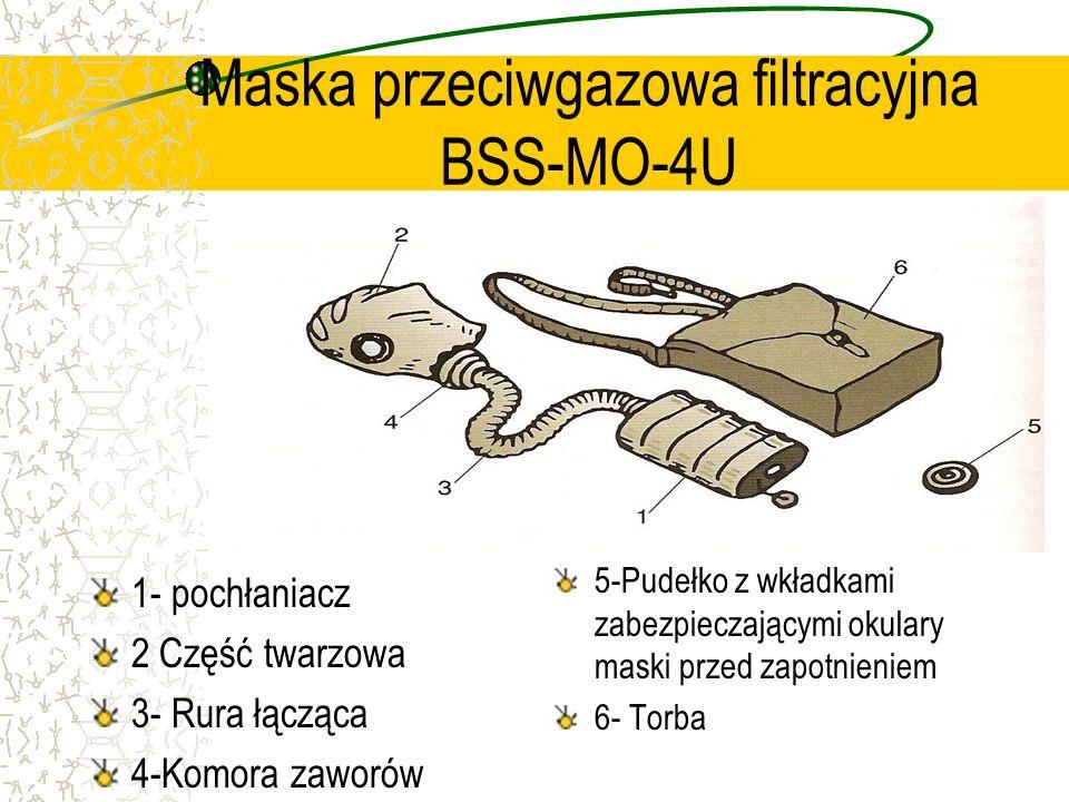 Maska przeciwgazowa filtracyjna BSS-MO-4U