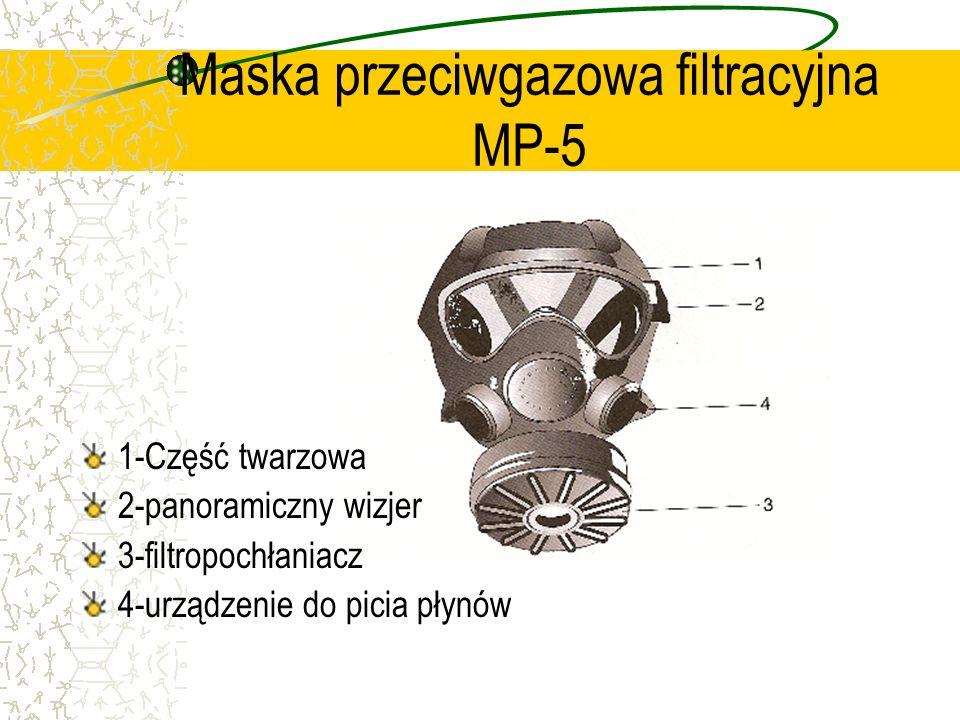 Maska przeciwgazowa filtracyjna MP-5