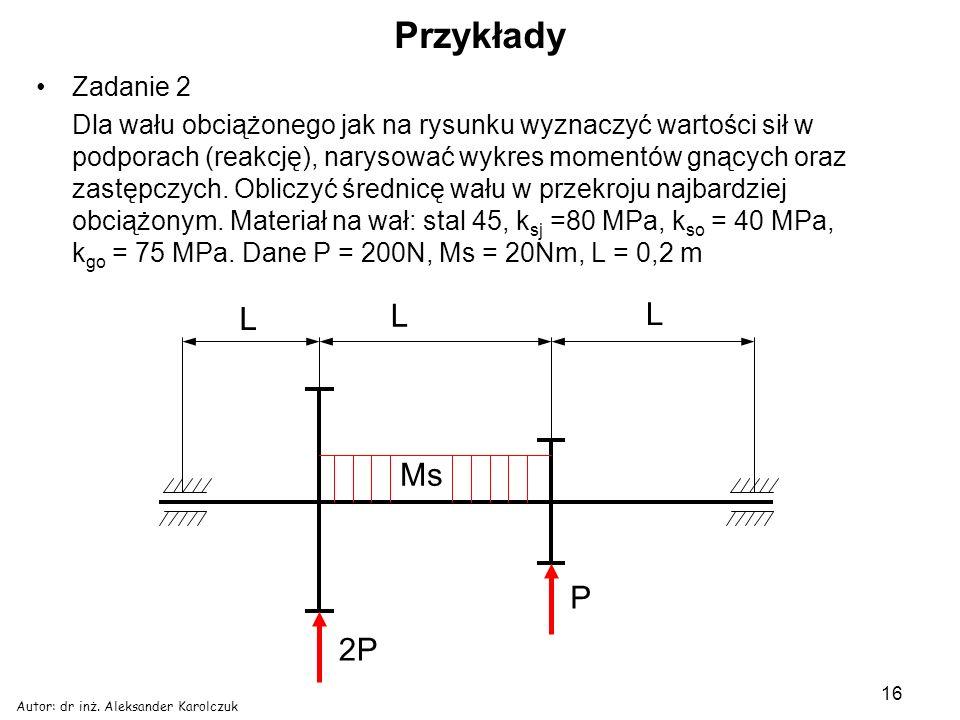 Przykłady L Ms P 2P Zadanie 2