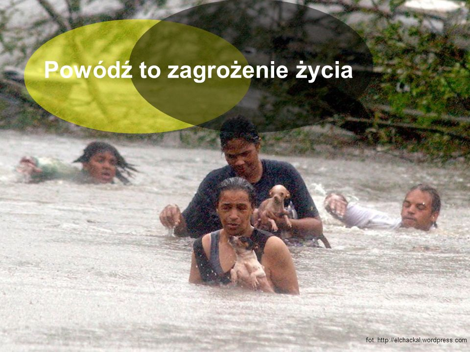 Powódź to zagrożenie życia