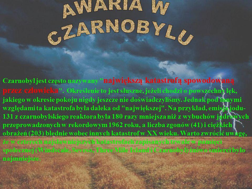 AWARIA W CZARNOBYLU.