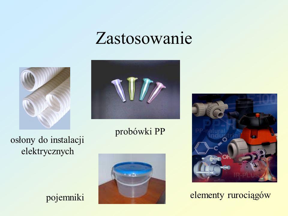 Zastosowanie probówki PP osłony do instalacji elektrycznych
