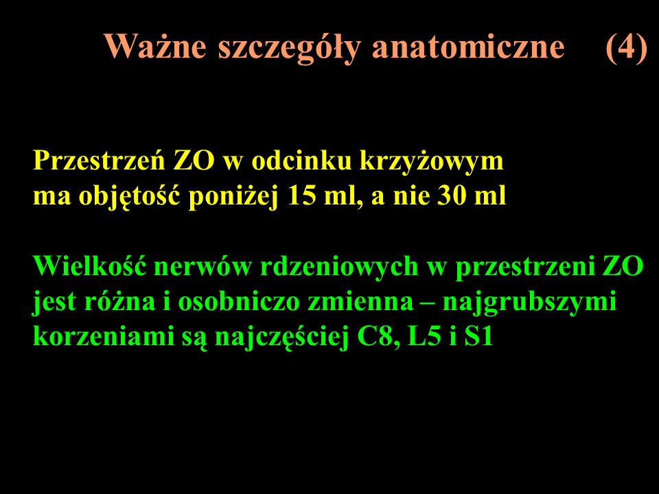 Ważne szczegóły anatomiczne (4)