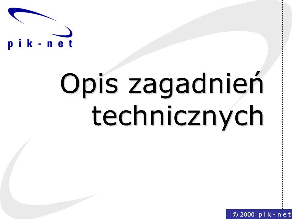 Opis zagadnień technicznych