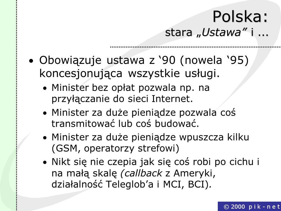 """Polska: stara """"Ustawa i ..."""
