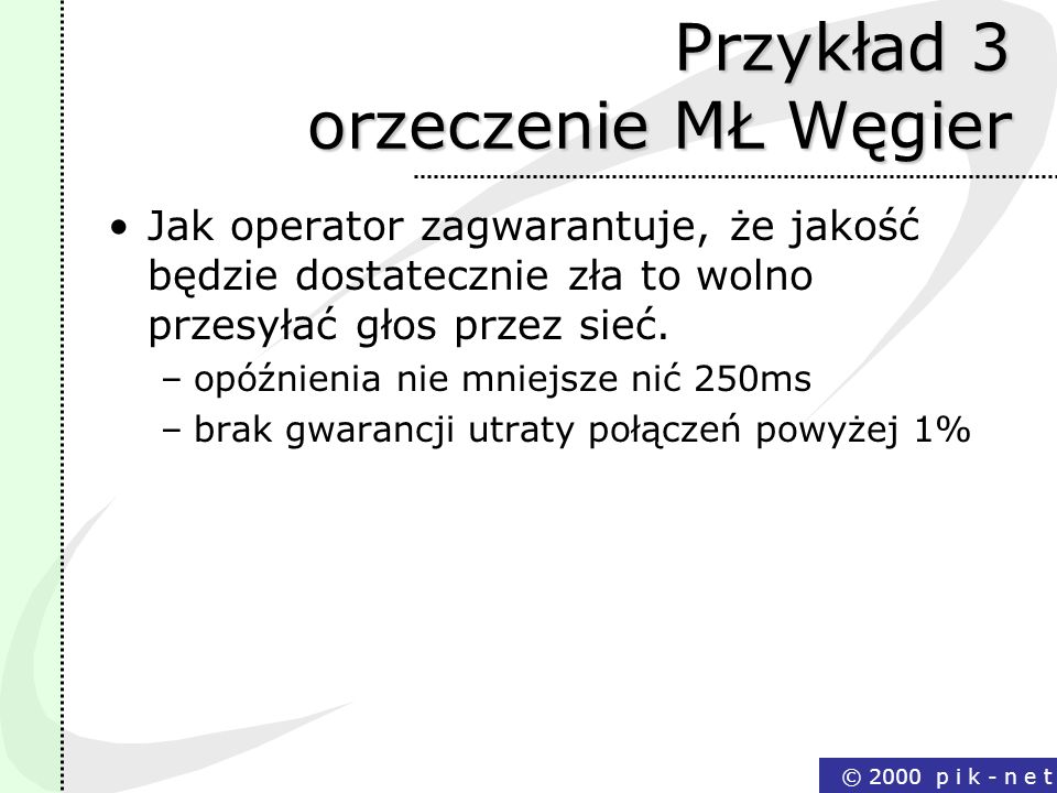 Przykład 3 orzeczenie MŁ Węgier