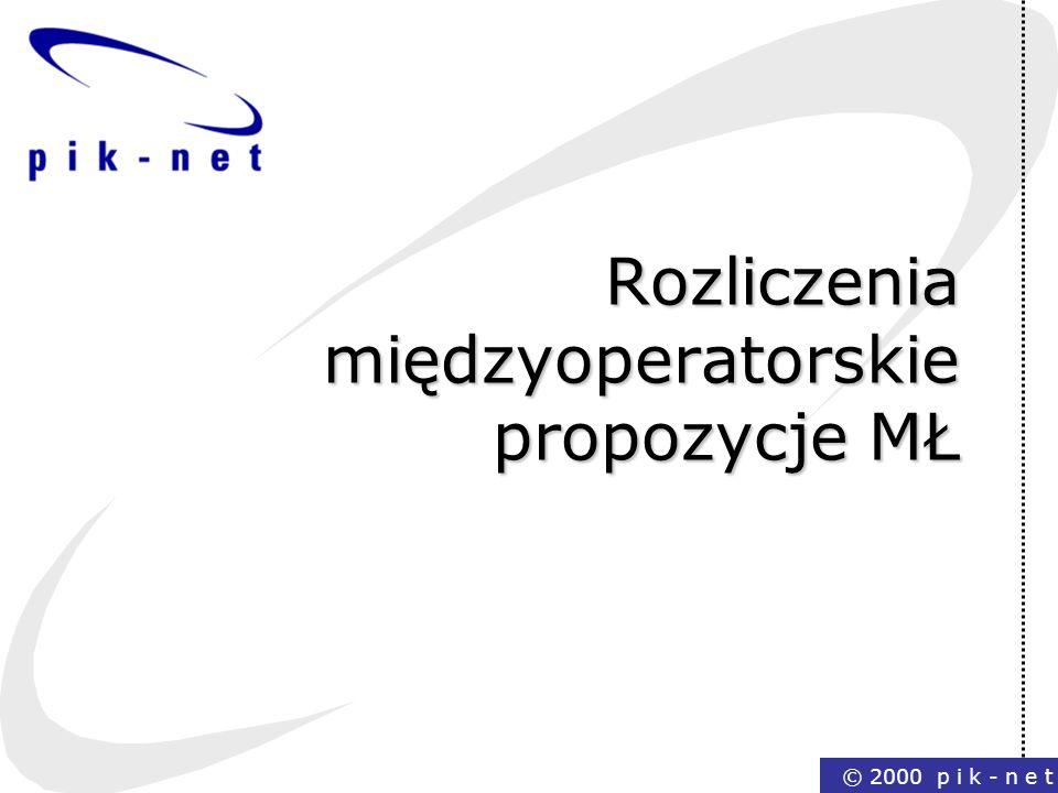 Rozliczenia międzyoperatorskie propozycje MŁ