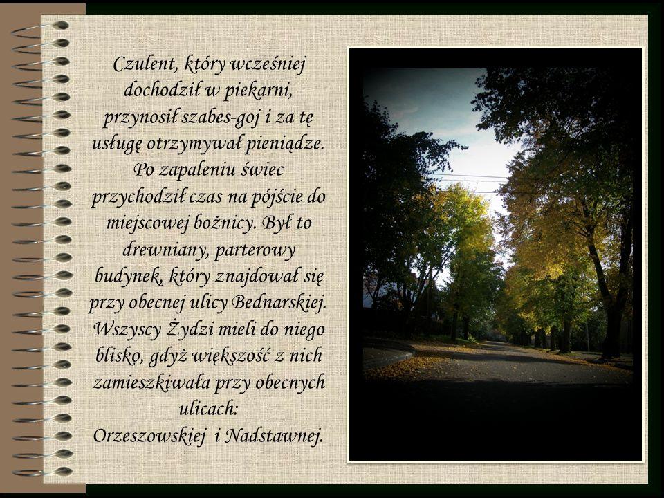 Orzeszowskiej i Nadstawnej.