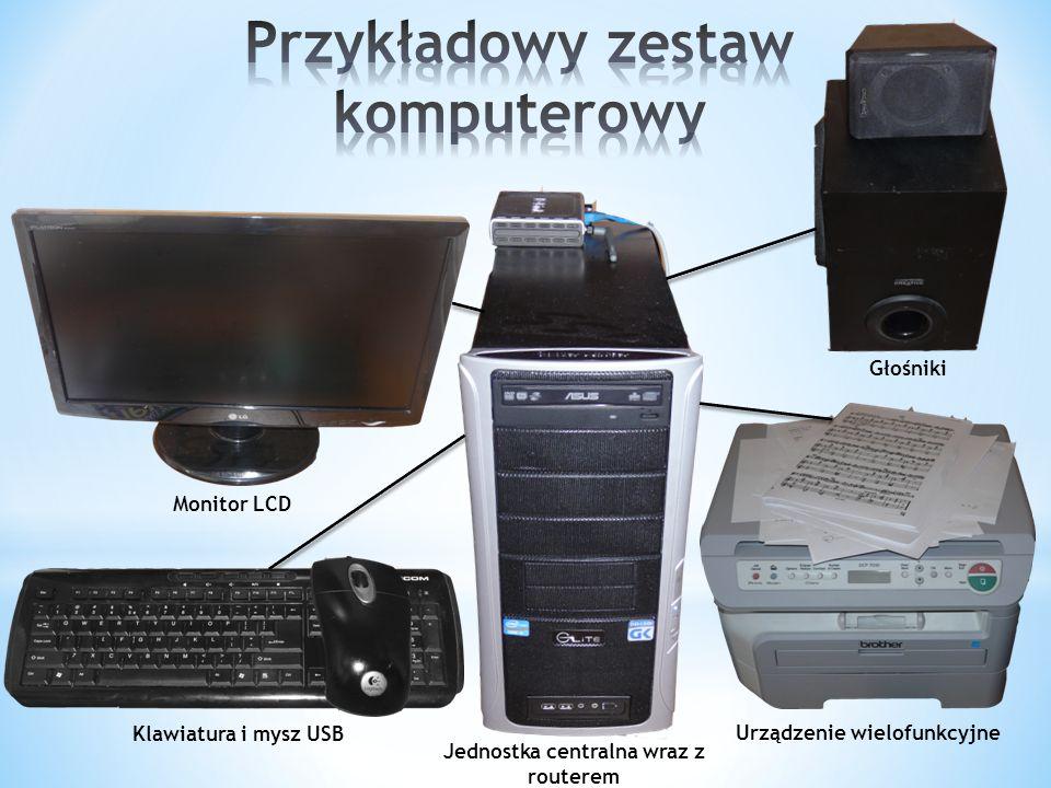 Przykładowy zestaw komputerowy