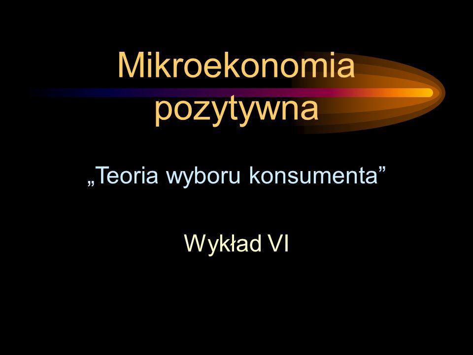 Mikroekonomia pozytywna