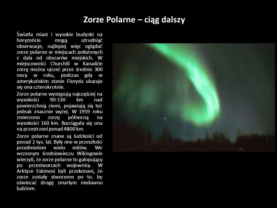 Zorze Polarne – ciąg dalszy