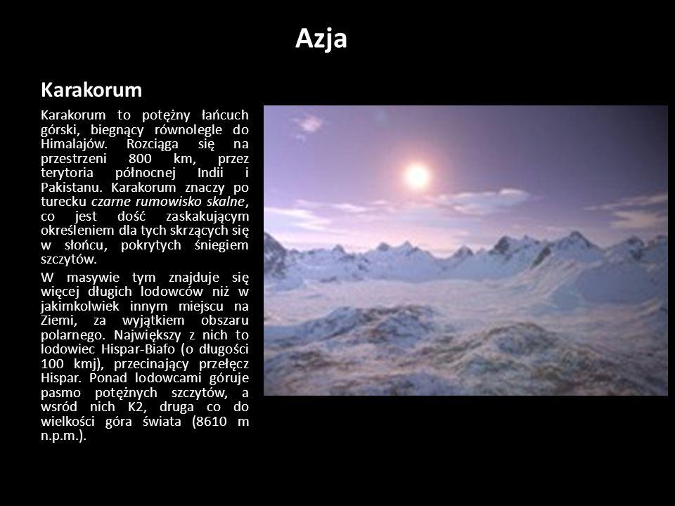 Azja Karakorum.