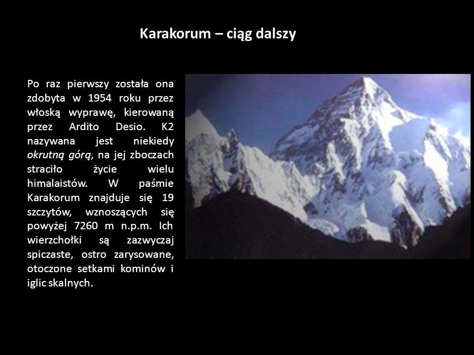 Karakorum – ciąg dalszy