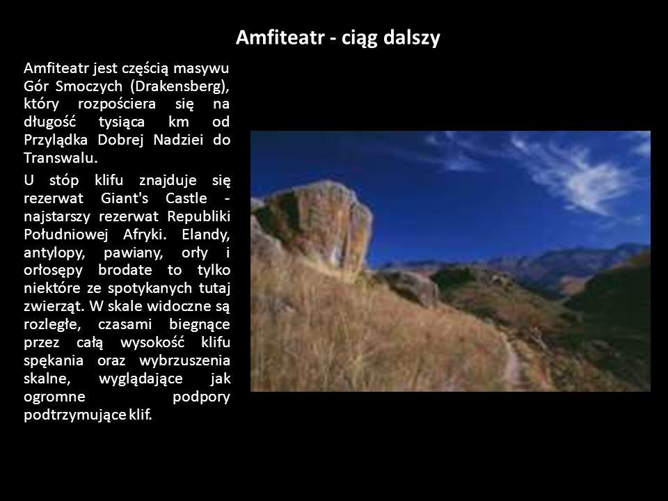 Amfiteatr - ciąg dalszy