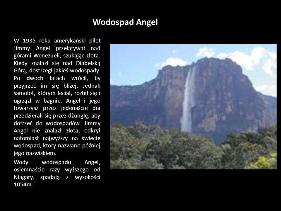 Wodospad Angel