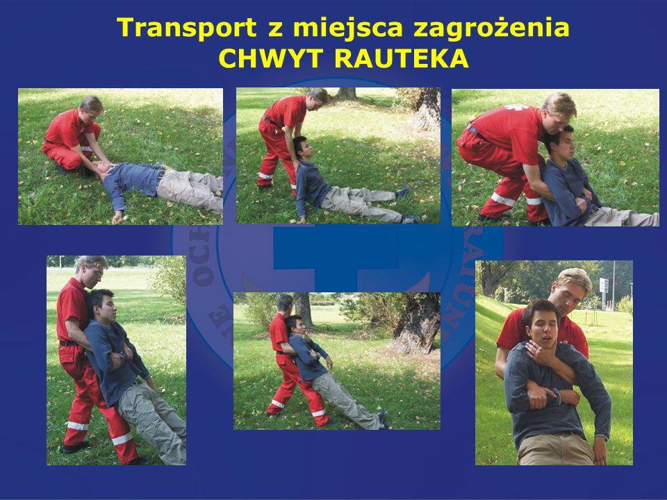 Transport z miejsca zagrożenia CHWYT RAUTEKA