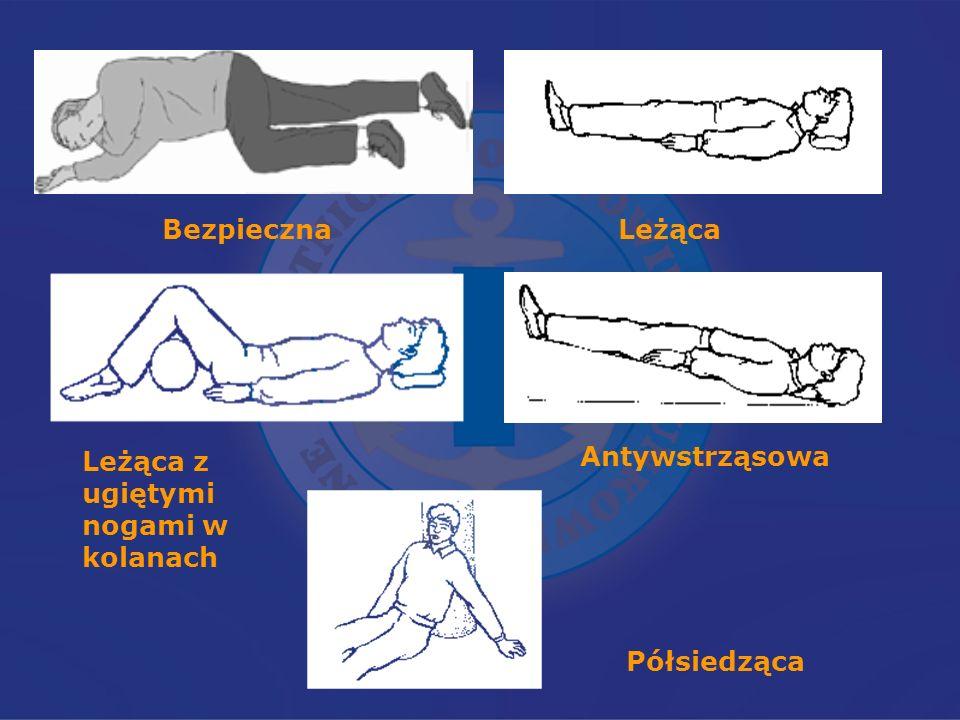 Bezpieczna Leżąca Leżąca z ugiętymi nogami w kolanach Antywstrząsowa Półsiedząca