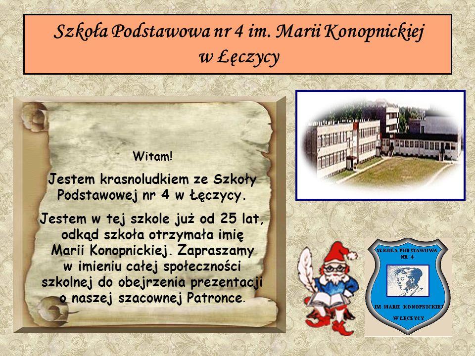 Szkoła Podstawowa nr 4 im. Marii Konopnickiej w Łęczycy