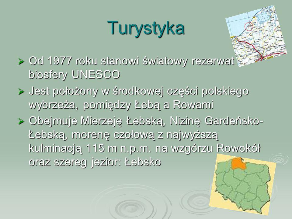 Turystyka Od 1977 roku stanowi światowy rezerwat biosfery UNESCO