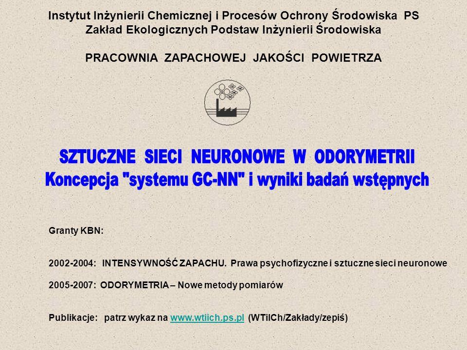 Instytut Inżynierii Chemicznej i Procesów Ochrony Środowiska PS
