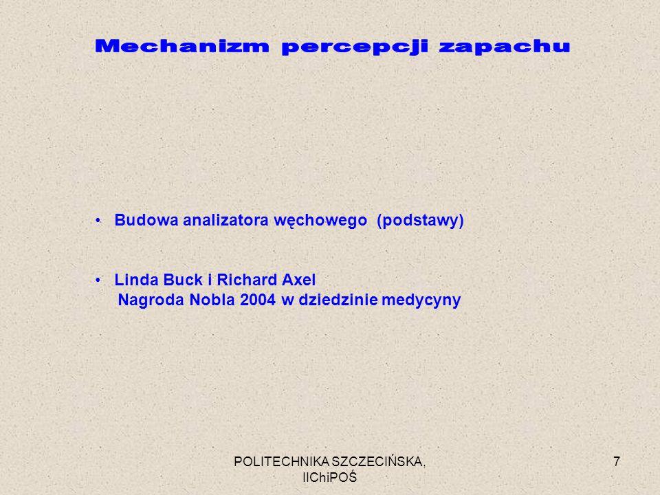 Mechanizm percepcji zapachu