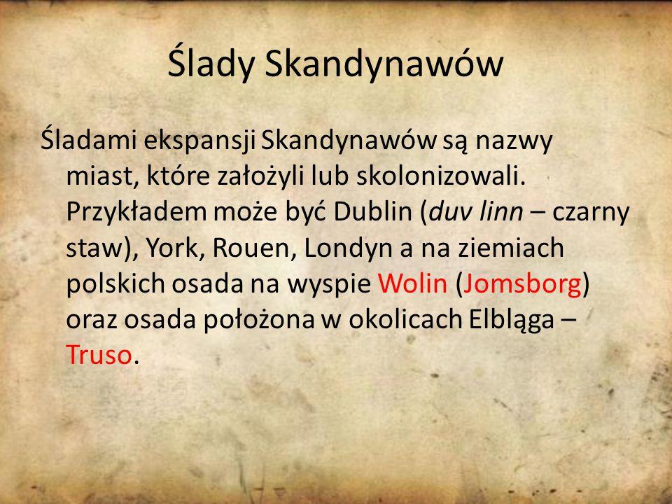 Ślady Skandynawów