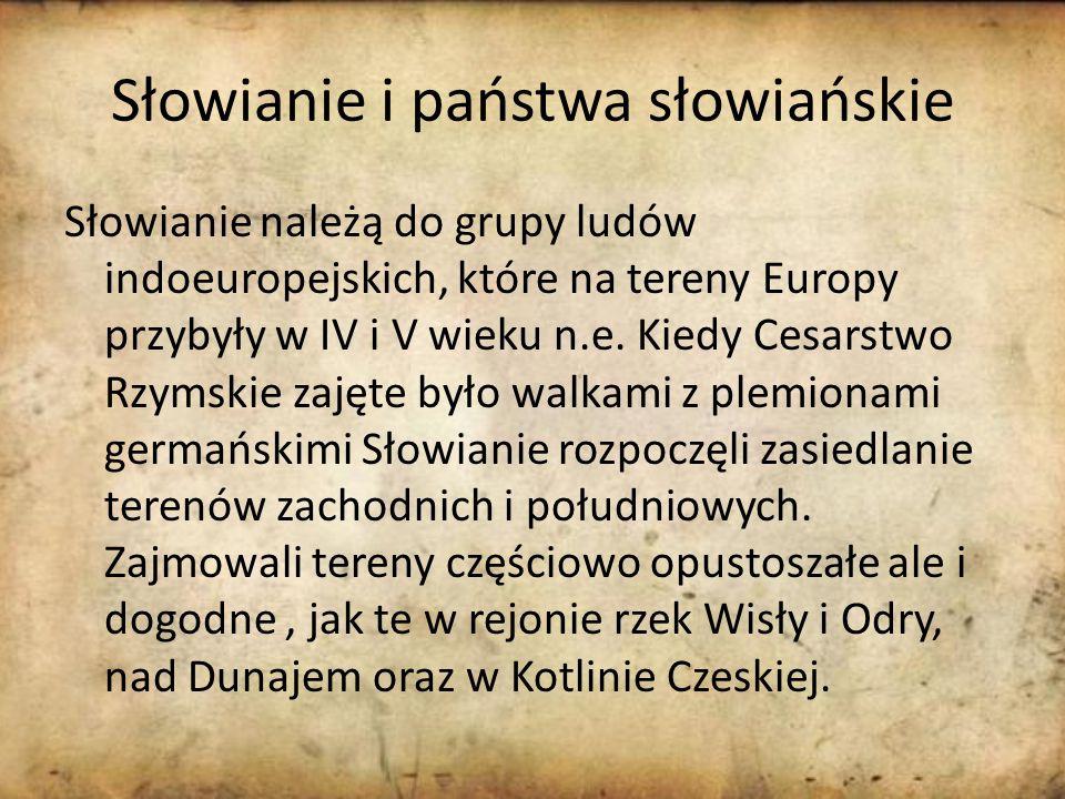 Słowianie i państwa słowiańskie