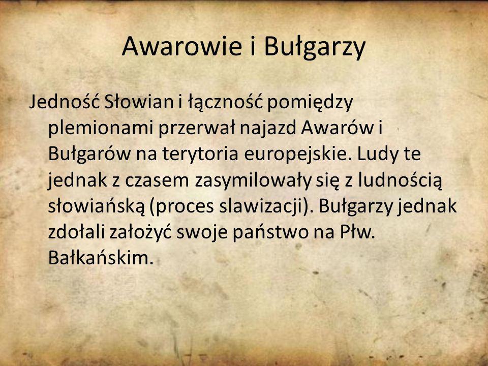 Awarowie i Bułgarzy