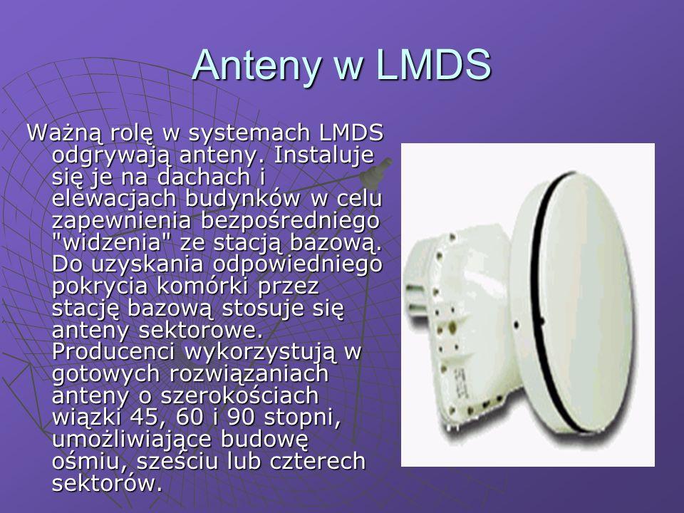Anteny w LMDS