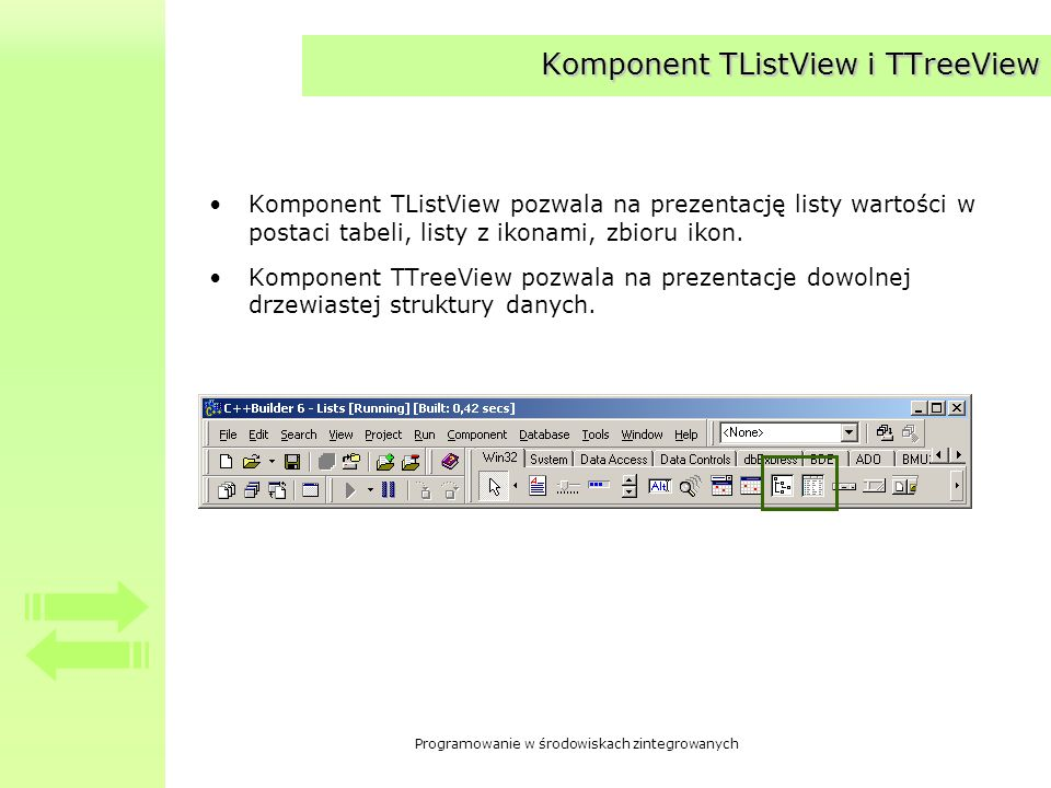 Komponent TListView i TTreeView