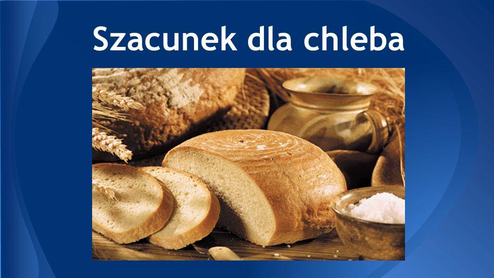 Do chleba rano wstawać trzeba.