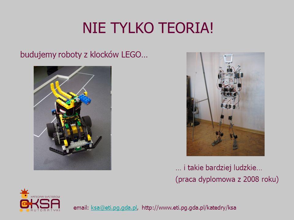 NIE TYLKO TEORIA! budujemy roboty z klocków LEGO…