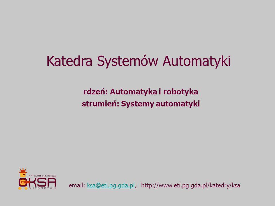 strumień: Systemy automatyki