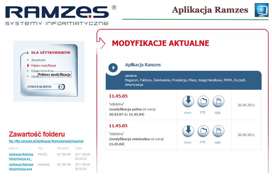 Aplikacja Ramzes 28