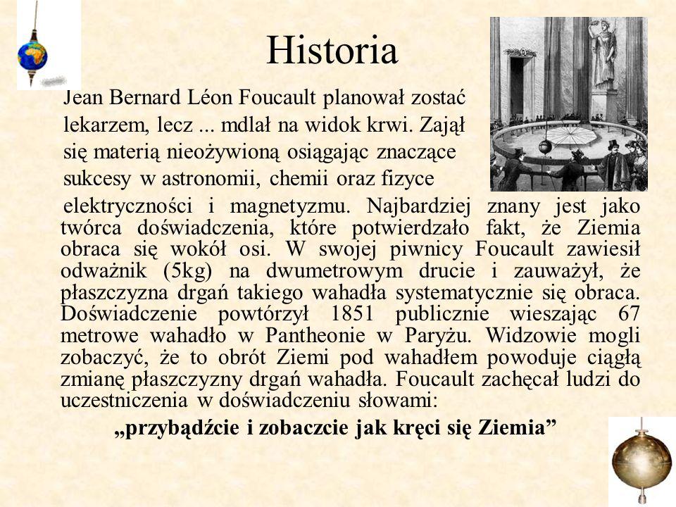 Historia Jean Bernard Léon Foucault planował zostać