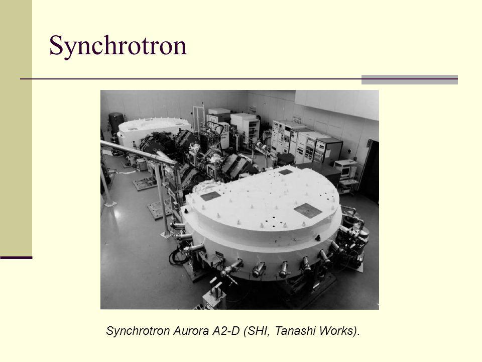 Synchrotron Synchrotron Aurora A2-D (SHI, Tanashi Works).