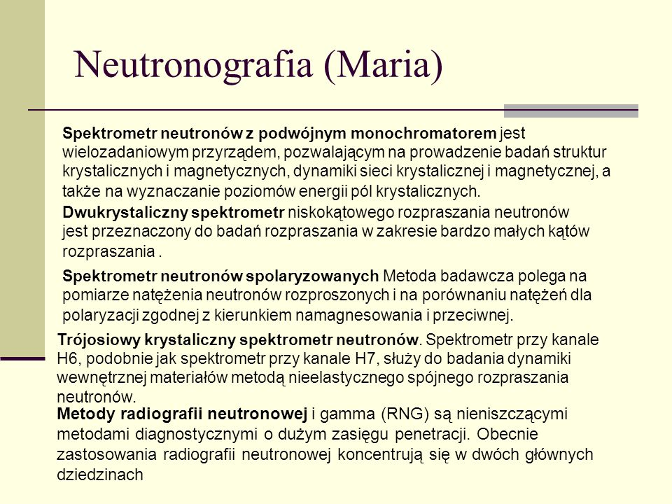 Neutronografia (Maria)