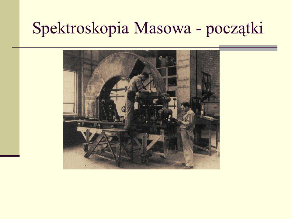 Spektroskopia Masowa - początki