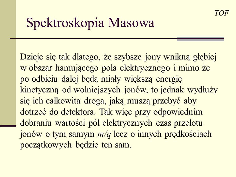 Spektroskopia Masowa TOF.